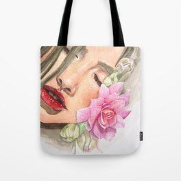 Cherry Lips Tote Bag