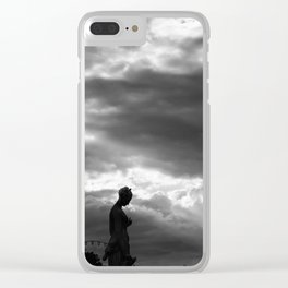 And the sky opened... Clear iPhone Case