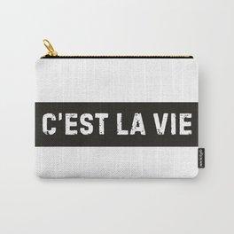Stamp Series: C'EST LA VIE Carry-All Pouch