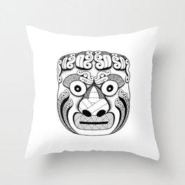 Cabeza Clava 2 Throw Pillow