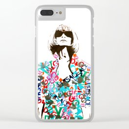 Ultimate Fashion Illustration by MrMAHAFFEY Clear iPhone Case