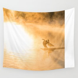Sunday Morning Daybreak (Boiling Springs, PA) Wall Tapestry