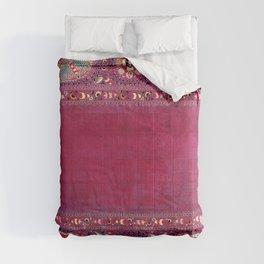 Shakhrisyabz  Southwest Uzbekistan Suzani Embroidery Print Comforters