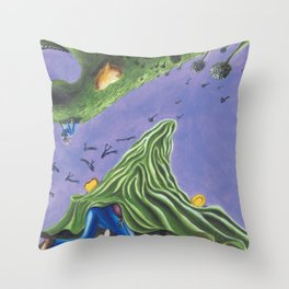 POEM OF MONSTERS Throw Pillow