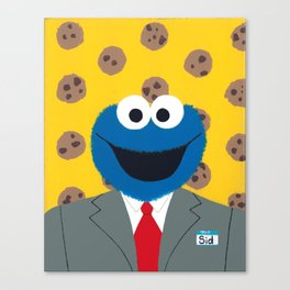 Cookies Are a Heckuva Snack Canvas Print
