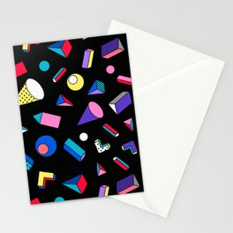 Colorful Party Favors Pattern: Little Toy Designs Stationery Cards