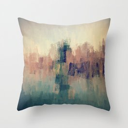 Paint collection Throw Pillow