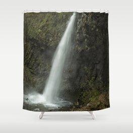 Upper Latourell Falls, No. 2 Shower Curtain