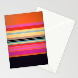 Sunset Stripes Stationery Cards