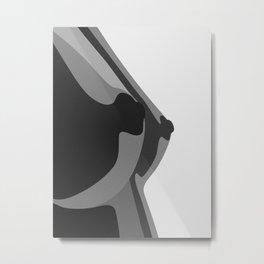 Boobs Metal Print
