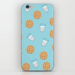 Cookies & milk iPhone Skin