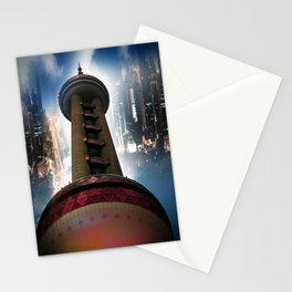 Shanghai - Oriental Pearl Tower Stationery Cards