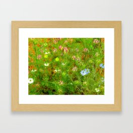 """Love in the Mist"" by ICA PAVON Framed Art Print"