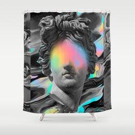 COMPLIANCE ⏤ DORIAN LEGRET + MALAVIDA Shower Curtain