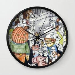 Nightmare Seeds Wall Clock