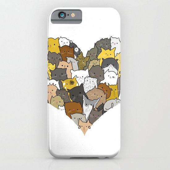 I Love Cats iPhone & iPod Case