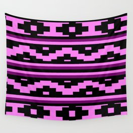 Etnico violet version Wall Tapestry