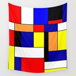 Mondrian #1 Wall Tapestry