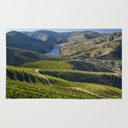 Vineyards in the Douro Valley, Pinhao Rug