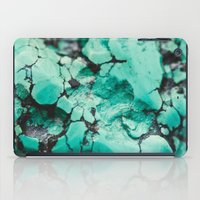 turquoise iPad Cases featuring Turquoise  by Laura Ruth
