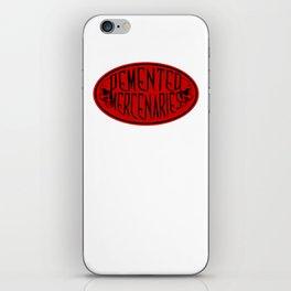 Demented Mercenaries iPhone Skin