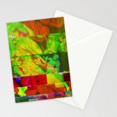 Poseidon Glitch 01 Stationery Cards