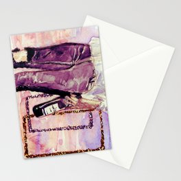 You opiate this hazy head of mine  Stationery Cards