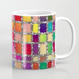Stained Glass Window Multicolour Pattern Coffee Mug