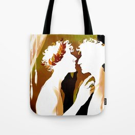 Achilles and Patroclus - Richard Siken Tote Bag