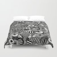 zen Duvet Covers featuring Zen by Juana Gatti