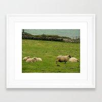 ireland Framed Art Prints featuring Ireland by Daniel Clifford