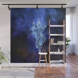 Deep Space Embrace Wall Mural