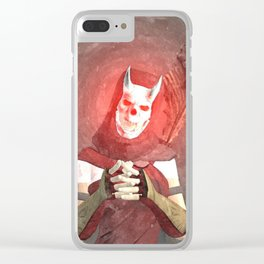 Red Foxxya Clear iPhone Case