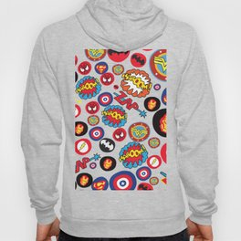 Movie Super Hero logos Hoody