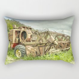 The abandoned Combine Rectangular Pillow