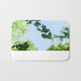 Green Tendrils Bath Mat