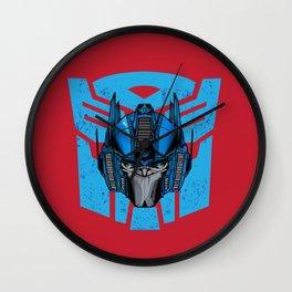 Optimus Prime Wall Clock