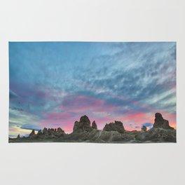 Pastel Rainbow Sunset : Tronna Pinnacles Rug