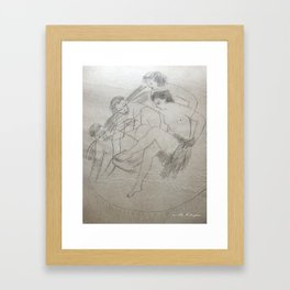 """vous lavez"" Framed Art Print"