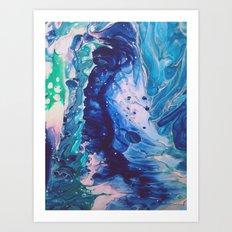 Aquatic Meditation Art Print