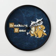 Breaking Bone Wall Clock