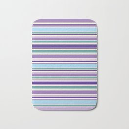 The Perfect Line Collection - Purple Spring Bath Mat