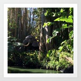 Jungle Cruse Art Print