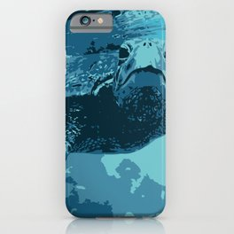 Meet me in Hawaii, sea turtle iPhone Case