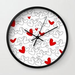 Wild love Wall Clock