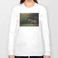 bad wolf Long Sleeve T-shirts featuring Bad Wolf by Monster Brand