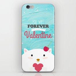 Baby Valentine iPhone Skin