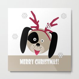 Merry Christmas!1 Metal Print