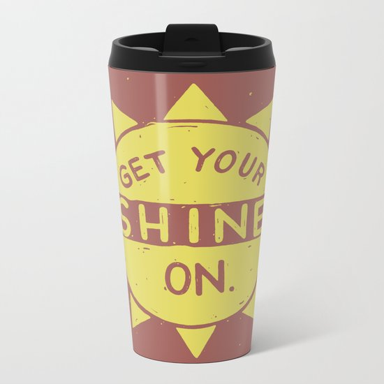 SH/NY Metal Travel Mug