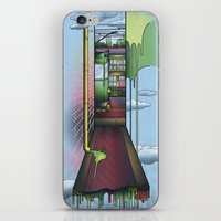 melbourne iPhone & iPod Skins featuring Melbourne by Mel Muraca